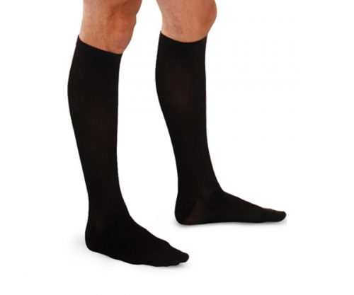 Extra Firm Support Sock Men Black
