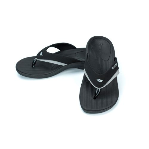 mens black fusion sandal